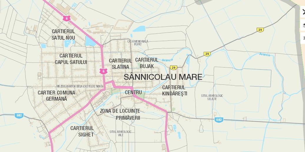 Harta Digitală A Orașului Sannicolau Mare Primaria Sannicolau Mare
